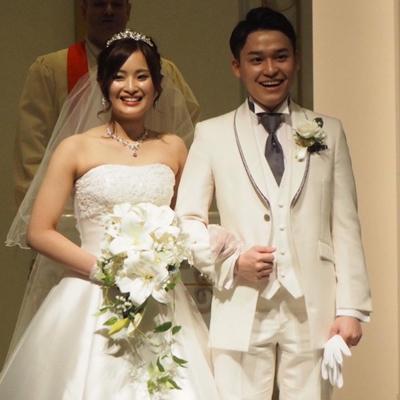 森さま 結婚式
